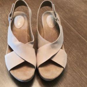 Annadel Eirwyn Slingback Wedge Sandal
